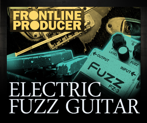 Frontline electric fuzz guitar 300 x 250