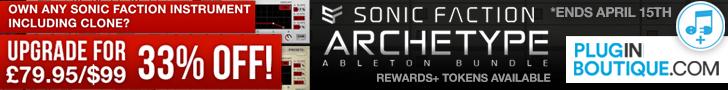728 x 90 pib sonic faction archetype bundle