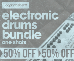 300 x 250 lm electronic drums bundle