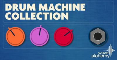 Drum machine collection banner