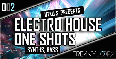 Electro house one shots 1000x512
