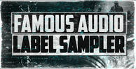 Famous audio label sampler 1000x512
