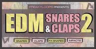Edm snares   claps vol 2 1000x512