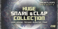 Huge snare clap collection 1000x512