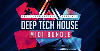 Deep tech house midi bundle 512