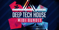 Deep tech house midi bundle 512
