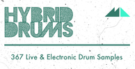 Hybrid drums banner