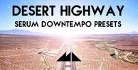 Desert highway banner