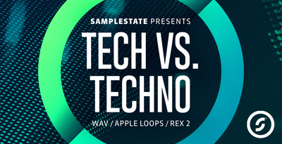 Samplestate techvstechno techhousesounds technodrums banner