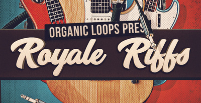 Royale riffs rock guitars and drum loops rectangle
