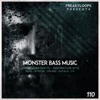 Monster bass music 1000x1000