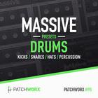 Massive presets drums   midi