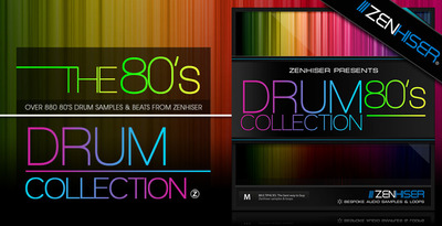 The 80 39 s drum collection 80 39 s drums sample cd vintage for Zenhiser classic house drum sounds
