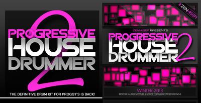Electro house samples progressive house drummer 2 for Zenhiser classic house drum sounds