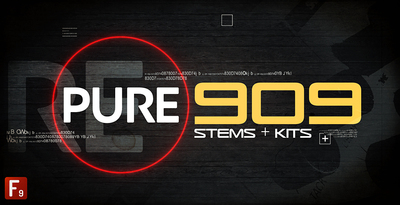 F9 audio analogue roland 909 samples drum hits from for Zenhiser classic house drum sounds